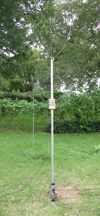 Antenna three meter-Vertical for 40 meter